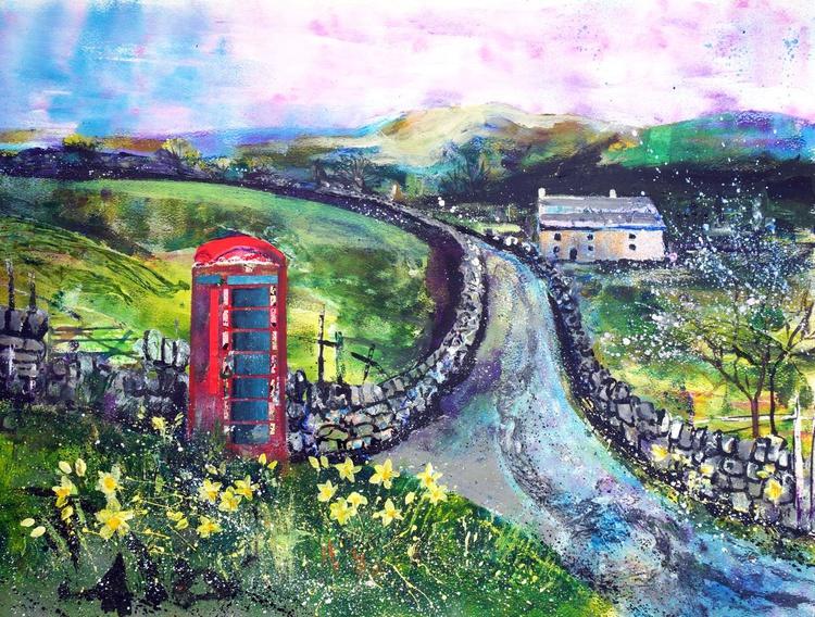 Phone Box, Keld, Yorkshire Dales - Image 0