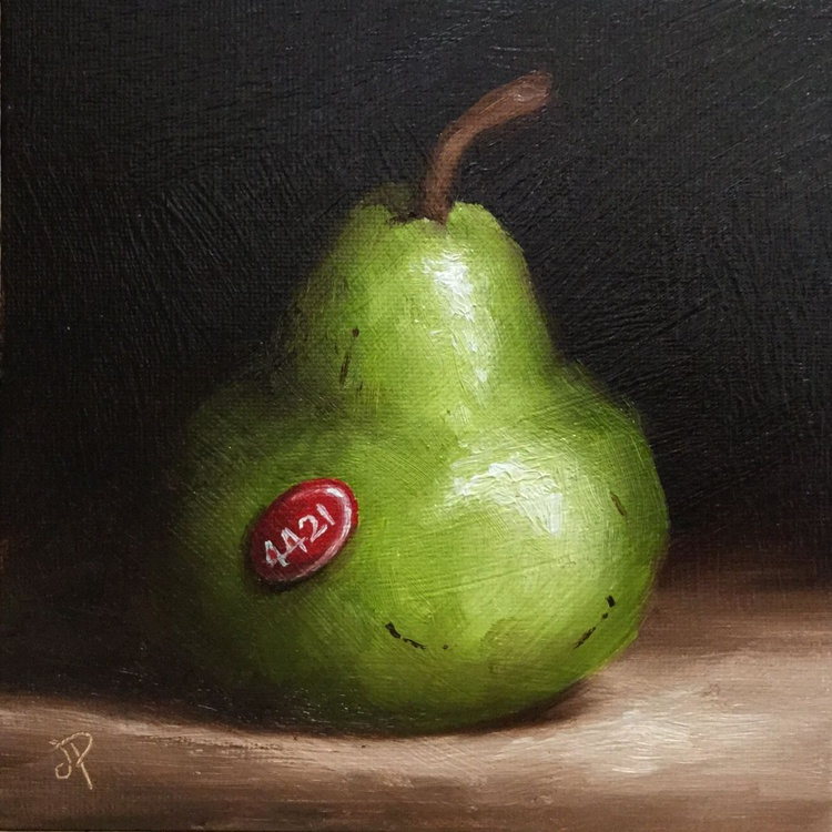 Labeled Pear - Image 0