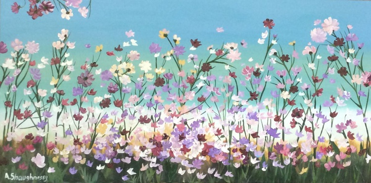 Floral Frenzy COMMISSIONED PAINTING - Image 0