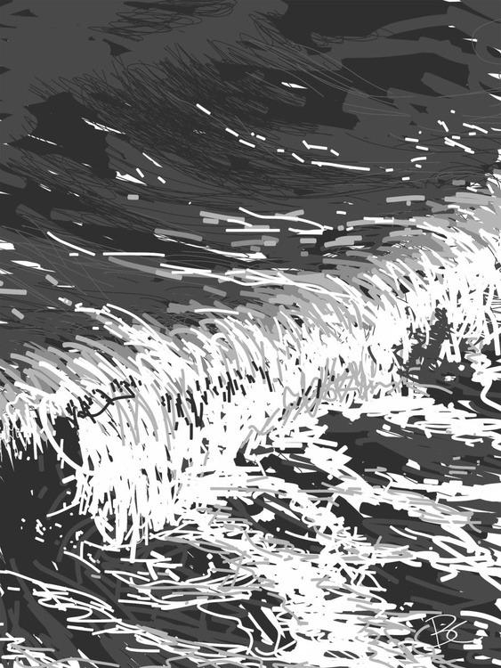 Wave 15 - Drawing - Image 0