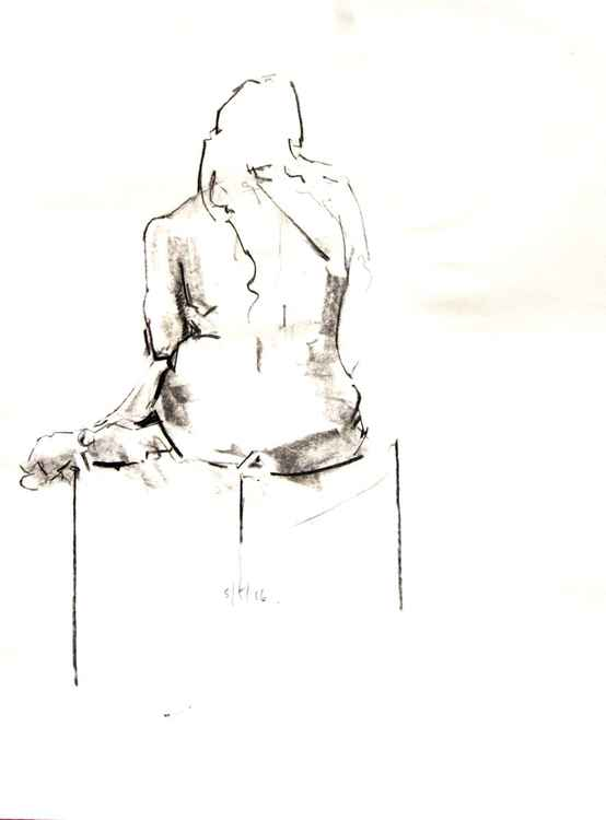 Life Drawing No 75 -