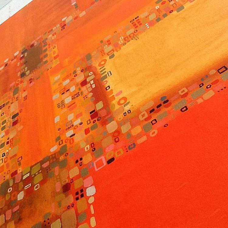City Life lll (100cmx100cm) - Image 0