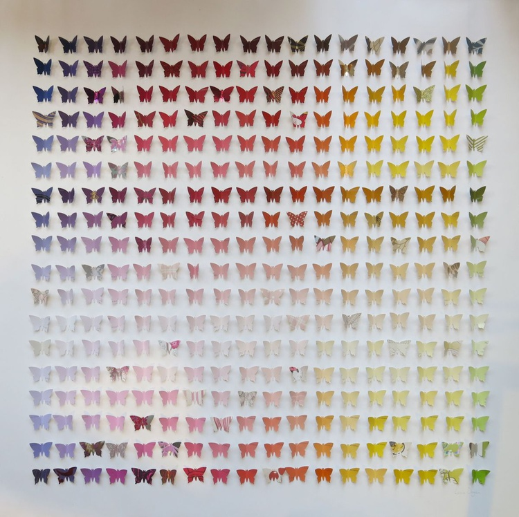 Rainbow Butterfly Box Red - Image 0
