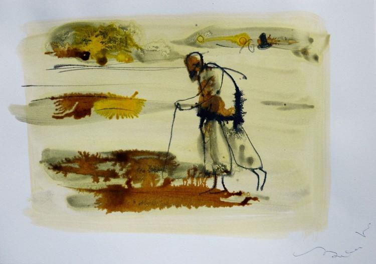 Pilgrim 2, 21x29 cm - Image 0