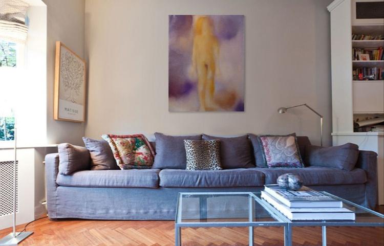 Ephemera, oil on canvas 73x92 cm - Image 0