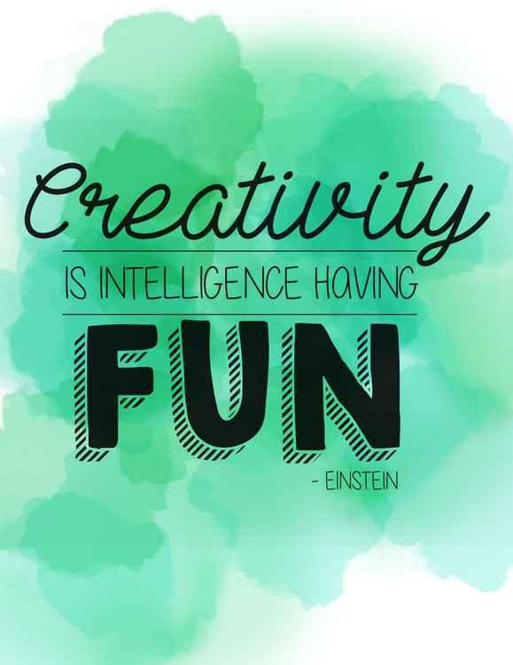 Creativity is -