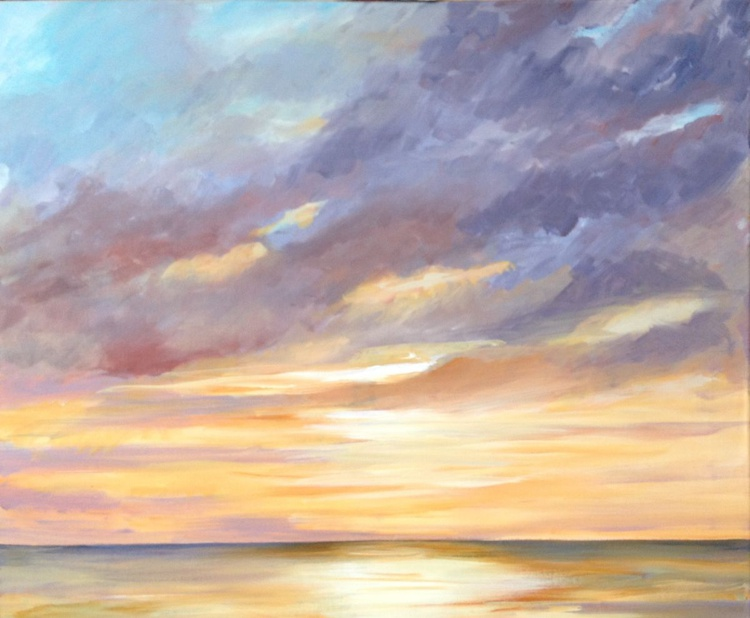 SUNSET OVER THE SEA - Image 0