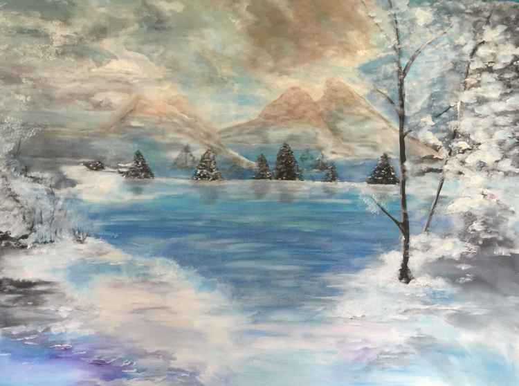 """Snowy Mountains"""
