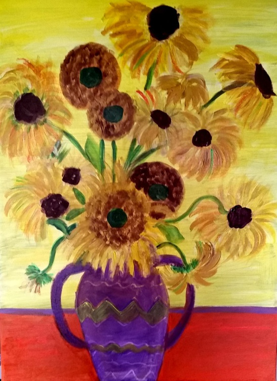 """""""sunflowers"""" - Image 0"""