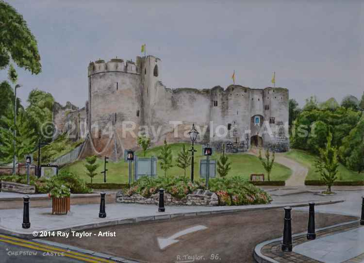 'Chepstow Castle' - Original Painting -