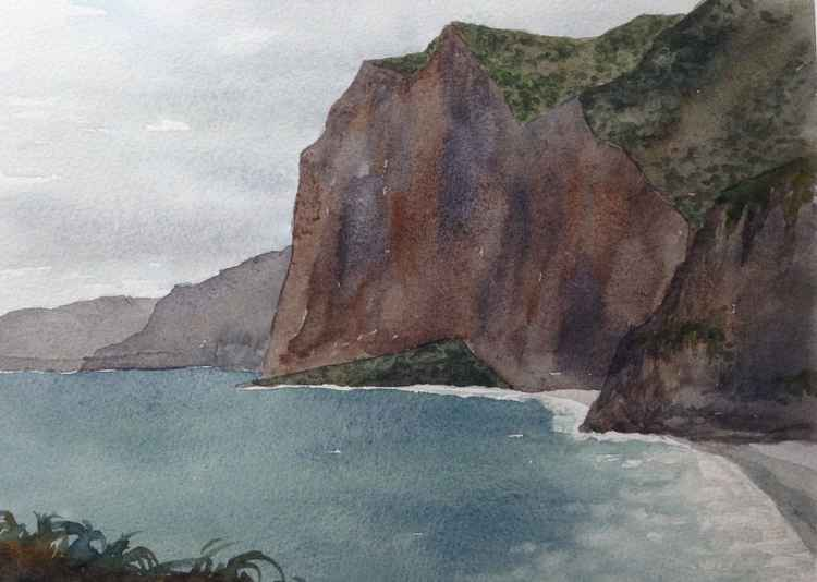 Sea Cliffs, Faial Madeira -