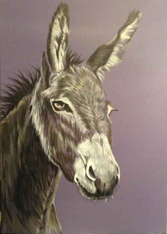 Romeo, 42 x 59 cms Acrylic on Stretched Canvas - Image 0