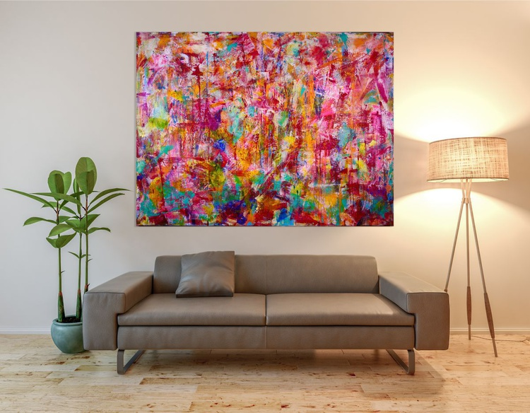 Abstract transition II (Falls) - COLORFUL STATEMENT WORK! - Image 0