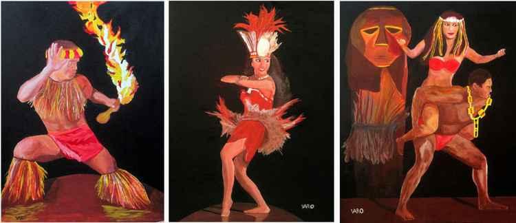 Princess Polynesian Dancers