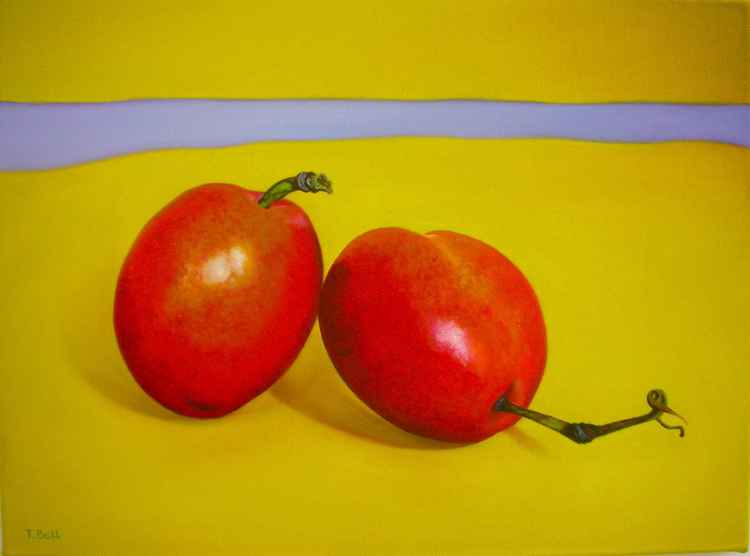 Two Plums -
