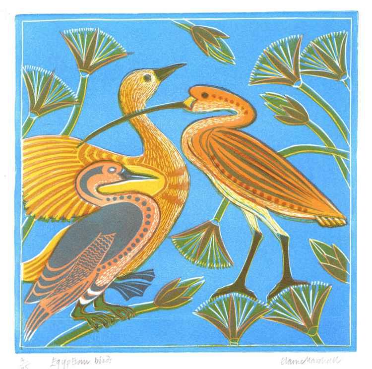 Egyptian Birds -