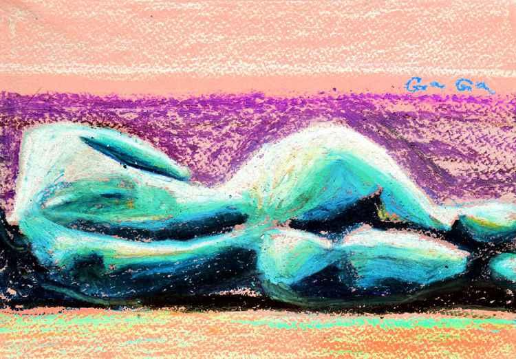 Pastel Nude 6 -