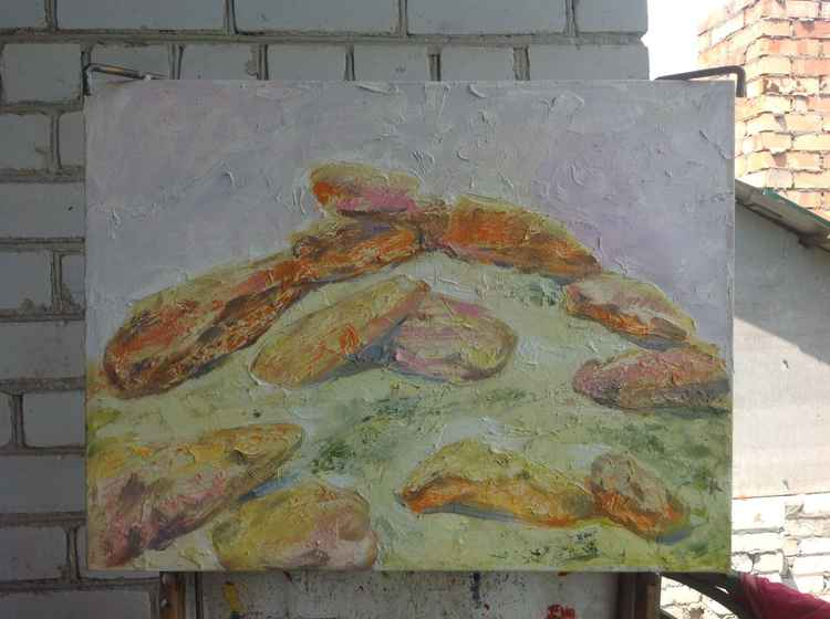 Stone tomb: family -