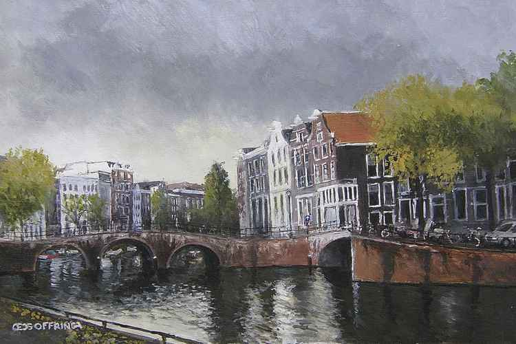 A famous piece of Amsterdam