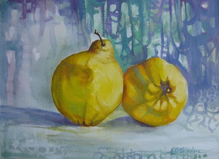 Two quinces - Image 0