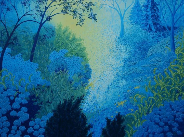 Blue Forest No 3 - Image 0