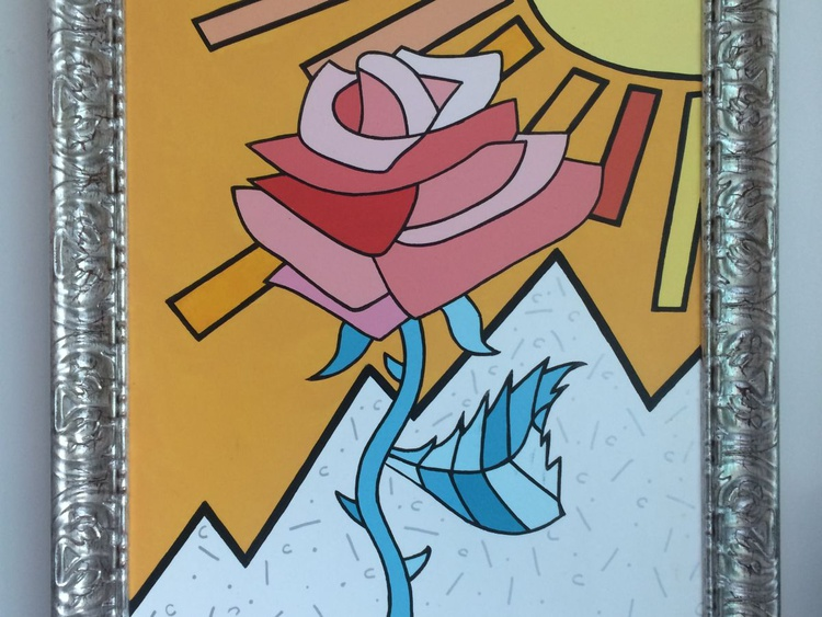 "Pop Art No. 3 - ""Rose"" - Image 0"