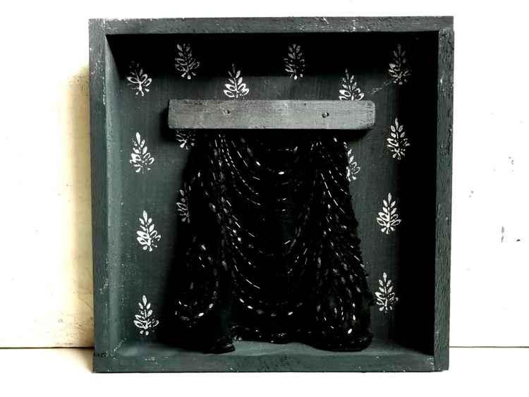La tenda nera - The black curtain -