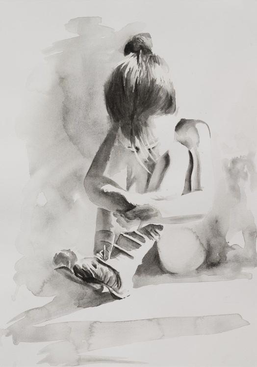 Young Ballerina - Image 0