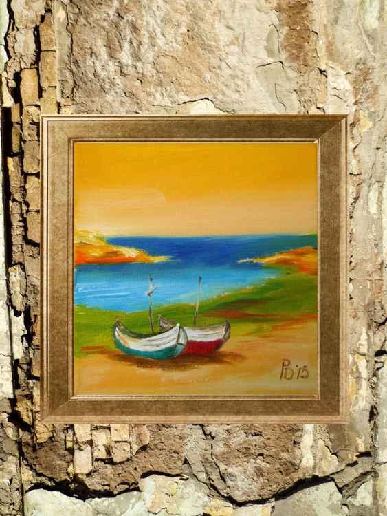Abandoned boats -