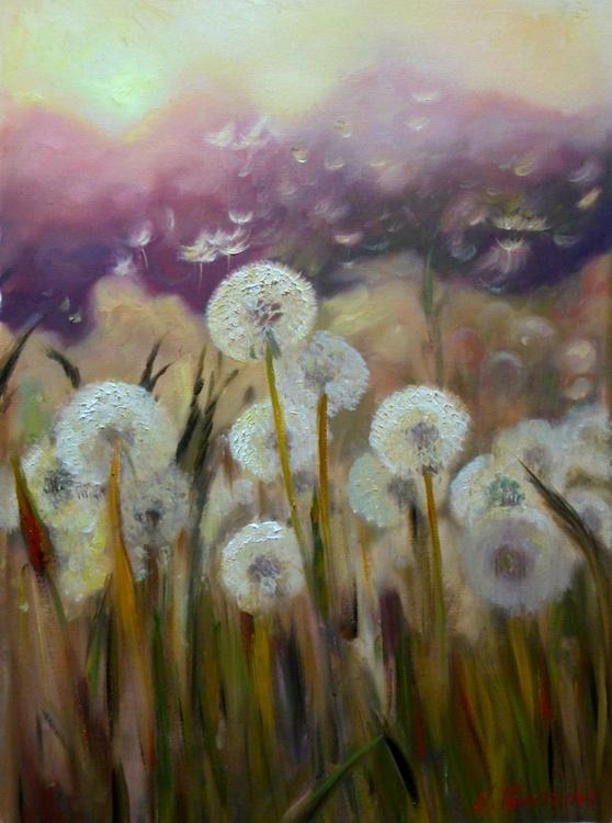 dandelions in a field - Image 0