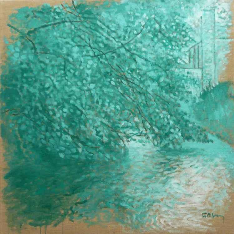 Andelle à Douville (vert)    (Cat N° 3165) -