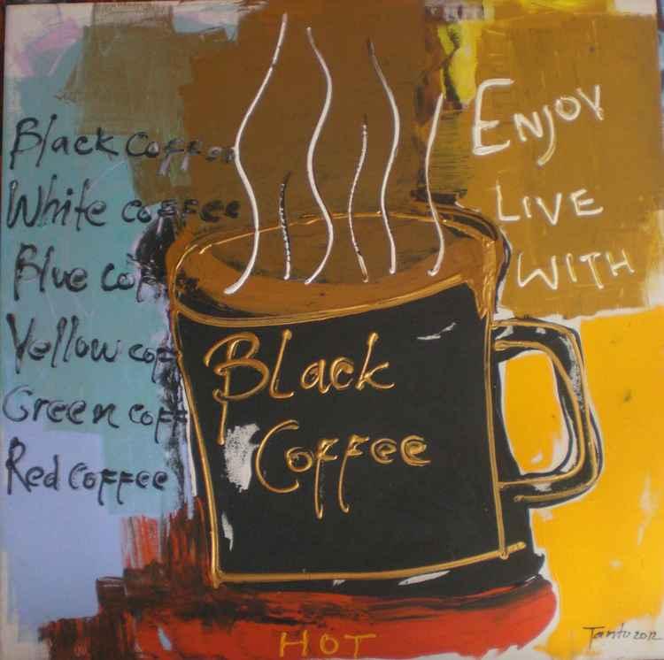 Black coffee -