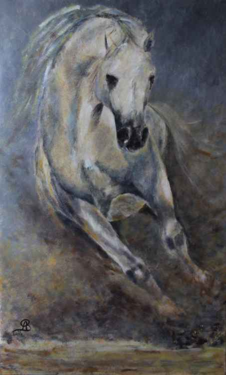 running horse -