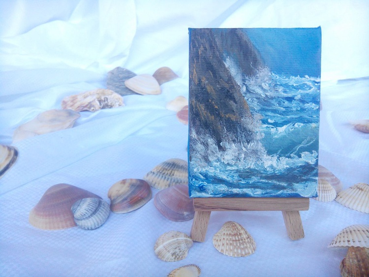 Miniature #010 - Easel included - Image 0