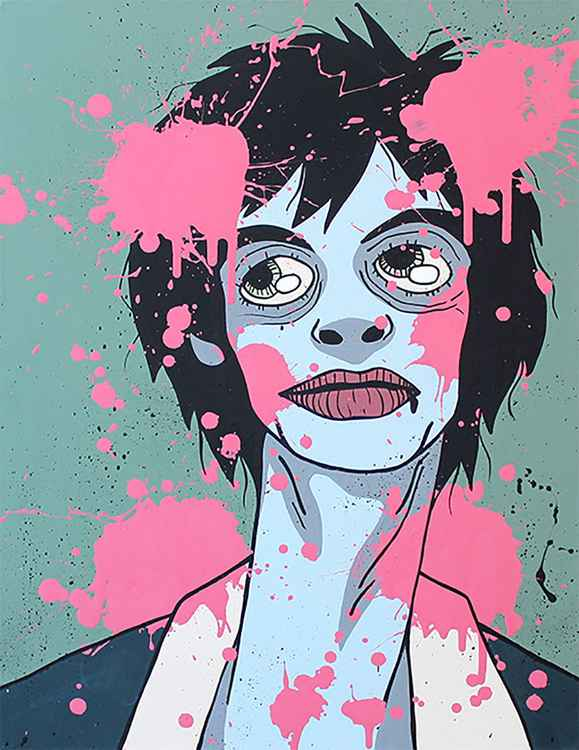 Pink Drops -