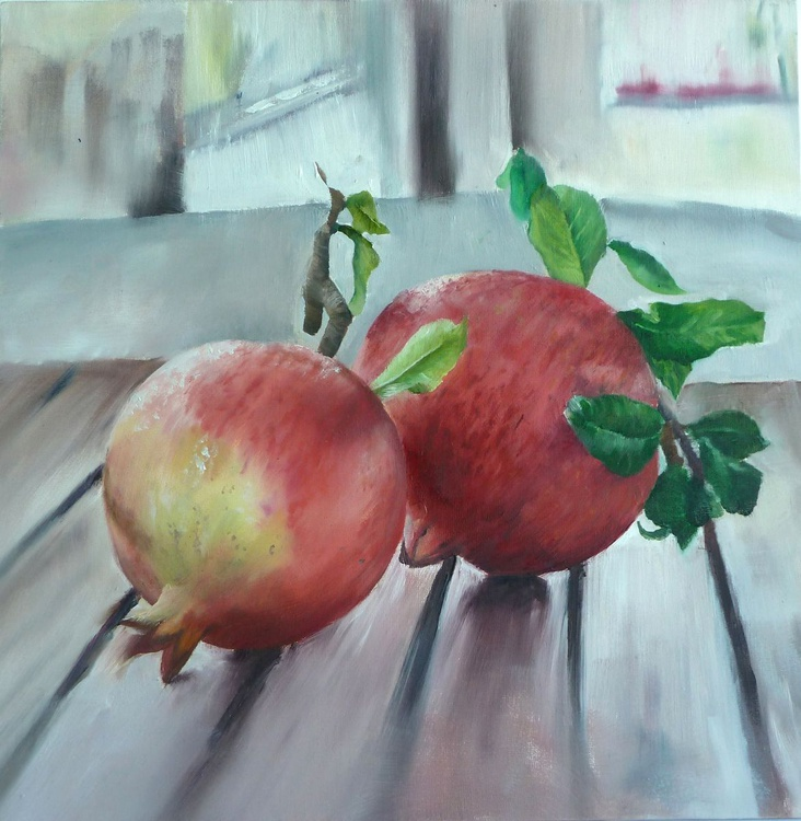 Two pomegranates - Image 0
