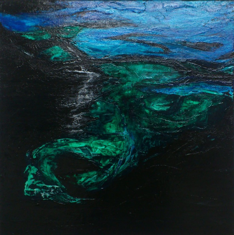Water Symphony #16011 (60x60cm) FREE SHIPPING TO EUROPE - Image 0