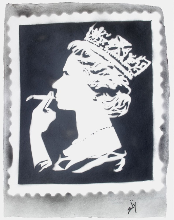Spliff Queen Special Edition (on gorgeous water colour paper) - Image 0