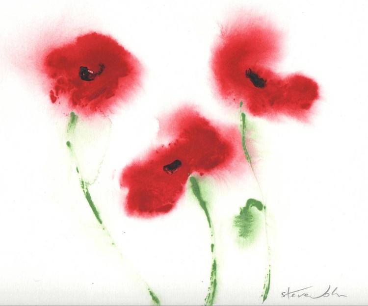 Vivid Poppies 2 - Image 0
