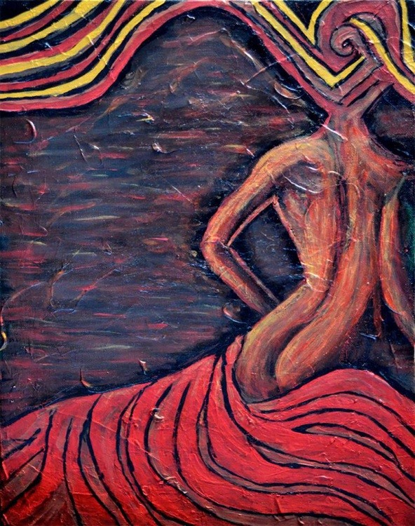 Moving Nude Woman - Image 0