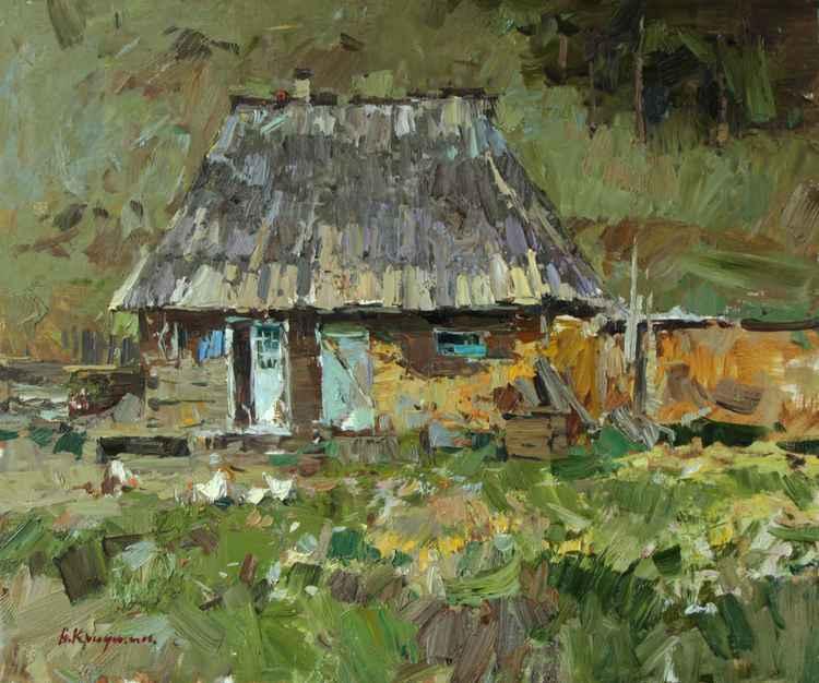 Carpathian hut