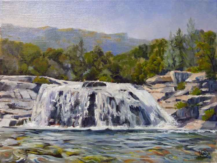 Cascade in Provence -