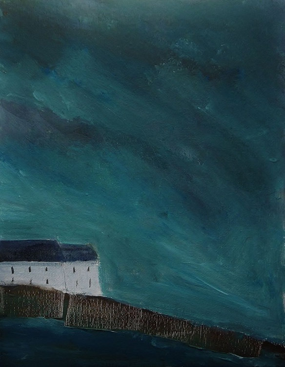Stormy Skies and Cottages - Image 0