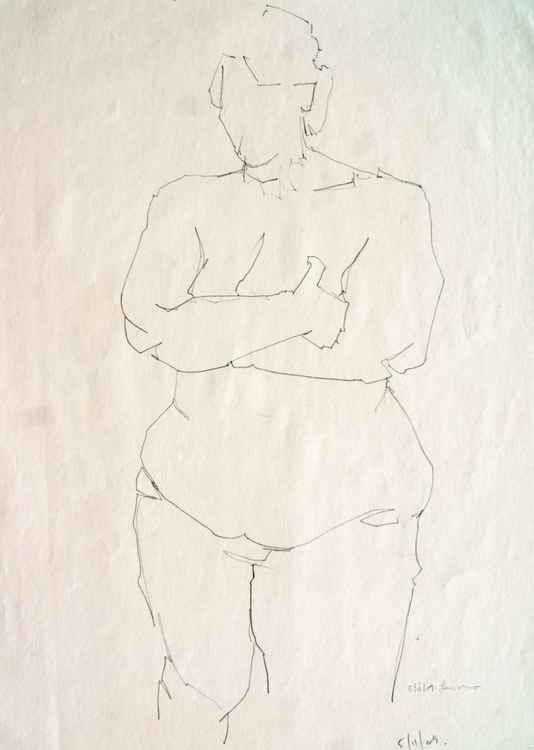 Life Drawing No 43 -