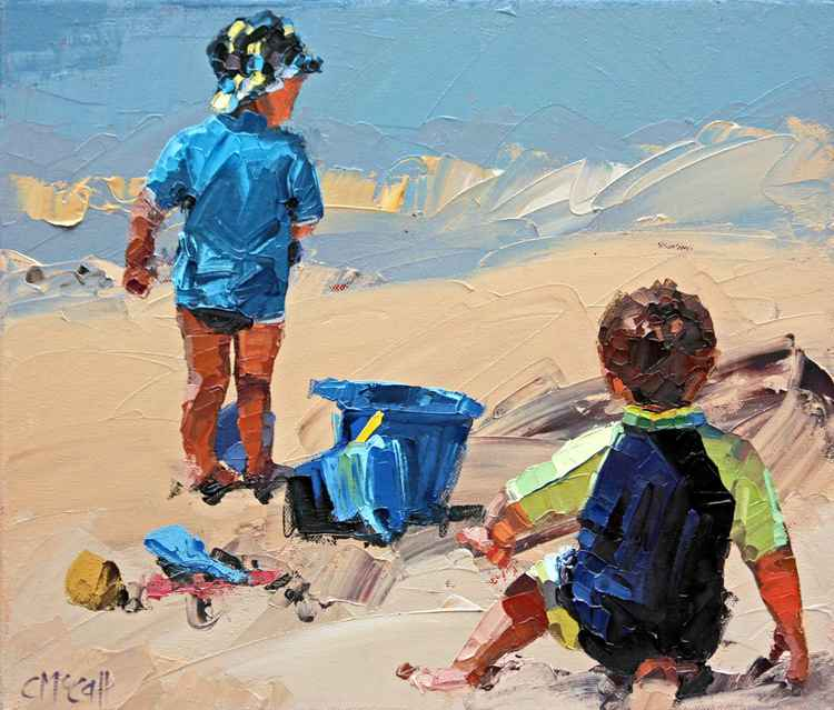 Sand Play Petite II -