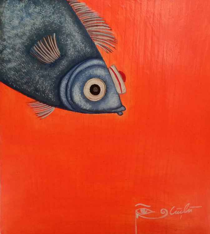 Orange Lucky Fish -