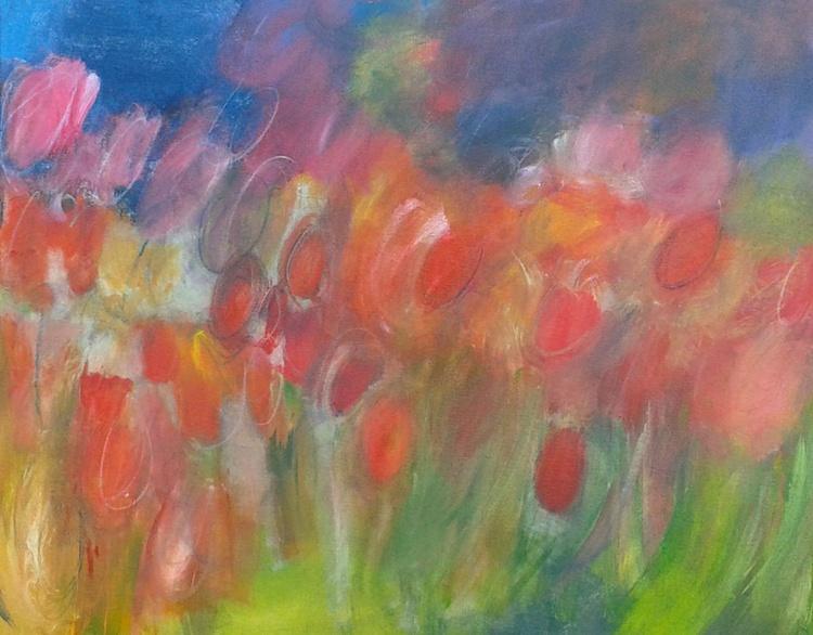 Windswept Tulips - Image 0