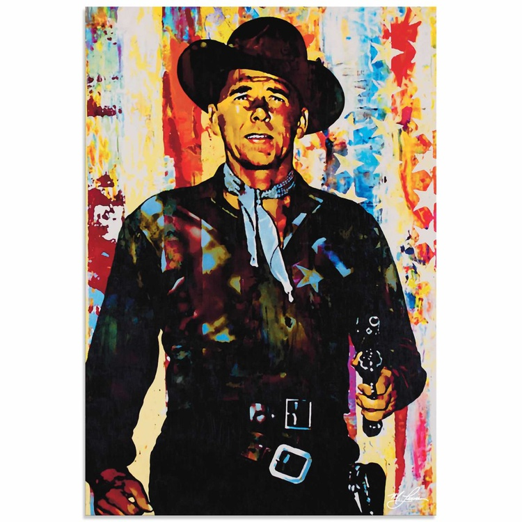 Mark Lewis 'Ronald Reagan Generation Extinction' Limited Edition Pop Art Print on Metal - Image 0