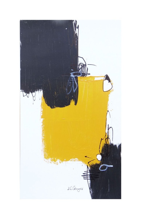 BLACK AND YELLOW #1 - Image 0