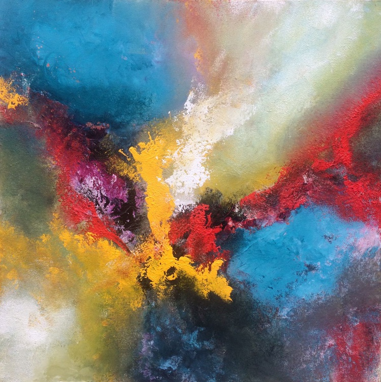 Lyrical Abstraction ,  20x20inches / 50x50cm - - Image 0